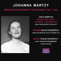 SWISS RADIO BROADCAST RECORDINGS 1947-1969 [요한나 마르치: 스위스 방송 녹음]