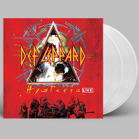 HYSTERIA LIVE [180G CLEAR LP]