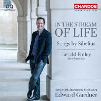 IN THE STREAM OF LIFE: SONGS BY SIBELIUS/ GERALD FINLEY, EDWARD GARDNER [SACD HYBRID] [시벨리우스: 가곡집]