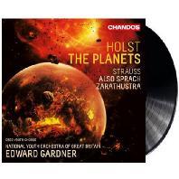 THE PLANETS & ALSO SPRACH ZARATHUSTRA/ EDWARD GARDNER [LP] [홀스트: 혹성 & 슈트라우스: 짜라투스트라는 이렇게 말했다]
