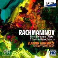 FROM THE OPERA ALEKO, 5 ETUDES TABLEAUX, SCHERZO/ VLADIMIR ASHKENAZY [SACD HYBRID] [라흐마니노프: 오페라 '알레코', 회화적 연습곡, 스케르초 - 블라디미르 아쉬케나지]