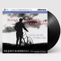 ENIGMA VARIATIONS, COCKAIGNE OVERTURE/ JOHN BARBIROLLI [엘가: 수수께끼 변주곡, 코케인 서곡 - 존 바비롤리] [180G LP]