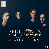 AROUND THE WORLD: VIENNA OP.59 NOS.1 & 2/ QUATUOR EBENE [베토벤: 현악사중 <라주모프스키>ㅣ에베네 사중주단]