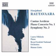 CANTUS ARCTICUS & PIANO CONCERTO/ LAURA MIKKOLA, HANNU LINTU [라우타바라: 칸투스 아르크티쿠스 - 새와 오케스트라를 위한 협주곡, 피아노 협주곡]