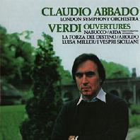 OUVERTURES/ CLAUDIO ABBADO [베르디: 서곡집 - 아바도]