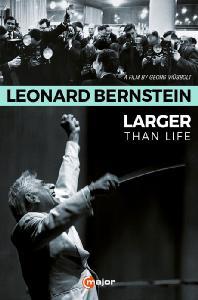 LARGER THAN LIFE: A FILM BY GEORG WUBBOLT [레너드 번스타인: 라저 댄 라이프 - 다큐필름] [한글자막]