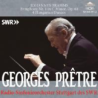 SYMPHONY NO.1 & 4 HUNGARIAN DANCES/ GEORGES PRETRE [브람스: 교향곡 1번 - 조르주 프레트르]