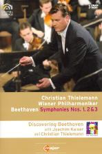 SYMPHONIES NOS.1,2 & 3/ <!HS>CHRISTIAN<!HE> THIELEMANN [틸레만과 빈 필하모닉의 베토벤 교향곡 전집 VOL.1]