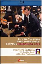 SYMPHONIES NOS.1,2 & 3/ CHRISTIAN THIELEMANN [틸레만과 빈 필하모닉의 베토벤 교향곡 전집 VOL.1] [블루레이 전용플레이어 사용]