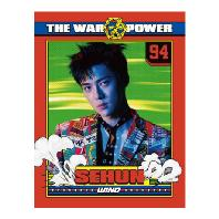 렌티큘러 포토콜렉트북 [SEHUN] [THE WAR: THE POWER OF MUSIC]