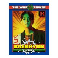 렌티큘러 포토콜렉트북 [BAEKHYUN] [THE WAR: THE POWER OF MUSIC]