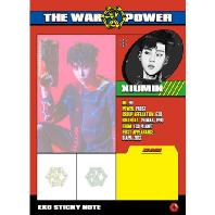 스티키노트 [XIUMIN] [THE WAR: THE POWER OF MUSIC]