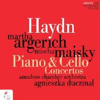 PIANO & CELLO CONCERTOS/ MARTHA ARGERICH, MISCHA MAISKI [하이든: 피아노 협주곡 D장조, 첼로 협주곡 C장조 외 - 아르헤리치, 마이스키]