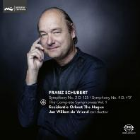 THE COMPLETE SYMPHONIES VOL.1: SYMPHONIES NOS.2 & 4 `TRAGIC`/ JAN WILLEM DE VRIEND [SACD HYBRID] [슈베르트: 교향곡 2, 4번 <비극적>]