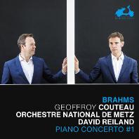 PIANO CONCERTO #1/ GEOFFROY COUTEAU, DAVID REILAND [브람스: 피아노 협주곡, 샤콘느(바흐 BWV1004 왼손을 위한 피아노 편곡) - 조프로와 쿠토]