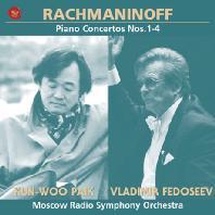 백건우(KUN-WOO PAIK) - RACHMANINOV: PIANO CONCERTOS NOS.1-4/ VLADIMIR FEDOSEEV