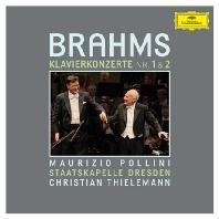 PIANO CONCERTOS NOS.1 & 2/ MAURIZIO POLLINI, CHRISTIAN THIELEMANN [브람스: 피아노 협주곡]