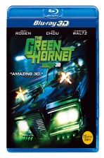 그린호넷: 2D+3D [THE GREEN HORNET] [14년 4월 3D 블루레이 페스티벌 프로모션] [미개봉 새 제품]