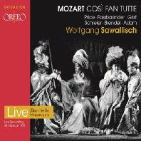 COSI FAN TUTTE/ WOLFGANG SAWALLISCH [모차르트: 코지 판 투테 전곡 (1978년 실황) - 자발리쉬]
