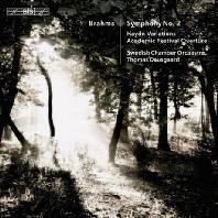 SYMPHONY NO.2, HAYDN VARIATIONS/ THOMAS DAUSGAARD [SACD HYBRID] [브람스: 교향곡 2번, 하이든 주제에 의한 변주곡 외 - 토마스 다우스고]