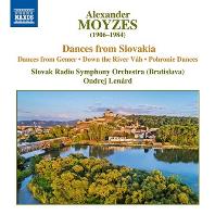 DANCES FROM SLOVAKIA/ ONDREJ LENARD [모이제스: 슬로바키아 춤곡 작품집]