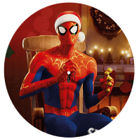 "A VERY SPIDEY CHRISTMAS [스파이더맨: 뉴 유니버스 캐롤 앨범] [10"" WHITE & PICTURE DISC LP] [한정반]"
