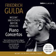 PIANO CONCERTOS: ORIGINAL SWR TAPES REMASTERED 1959-1962 [모차르트, 베토벤, 하이든, 슈트라우스: 피아노 협주곡 모음집 - 프리드리히 굴다]