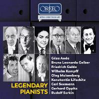 LEGENDARY PIANISTS [ORFEO 40TH ANNIVERSARY] [오르페오 40주년: 전설적인 피아니스트들]