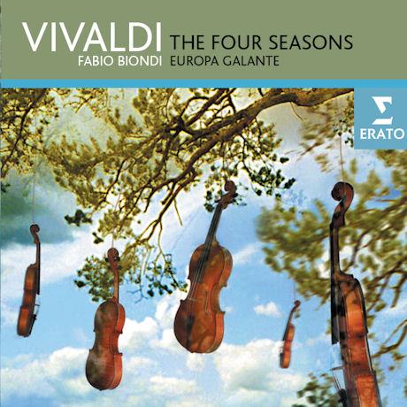 THE FOUR SEASONS/ FABIO BIONDI & EUROPA GALANTE [비발디: 사계 - 파비오 비온디 & 에우로파 갈란테]