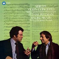 SIBELIUS: VIOLIN CONCERTO & SINDING: SUITE/ ANDRE PREVIN [펄만 21집 - 시벨리우스: 바이올린 협주곡 & 신딩: 모음곡]