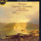 CLARINET SONATAS/ THEA KING/ CLIFFORD BENSON [HELIOS]