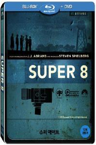 슈퍼에이트: 초도한정 스틸북 BD+DVD 콤보팩 [SUPER 8] / [[스틸북 콤보팩] 2disc(BD+DVD)/띠지]