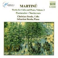 WORKS FOR CELLO & PIANO VOL.2/ CHRISTIAN BENDA, SEBASTIAN BENDA [마르티누: 첼로 & 피아노를 위한 작품 2집 - 벤다]