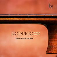 GUITAR WORKS/ PEDRO ROJAS-OGAYAR [로드리고의 기타 음악: 유쾌한 소나타, 세 개의 스페인 소품 - 페드로 로하스 오가야르]