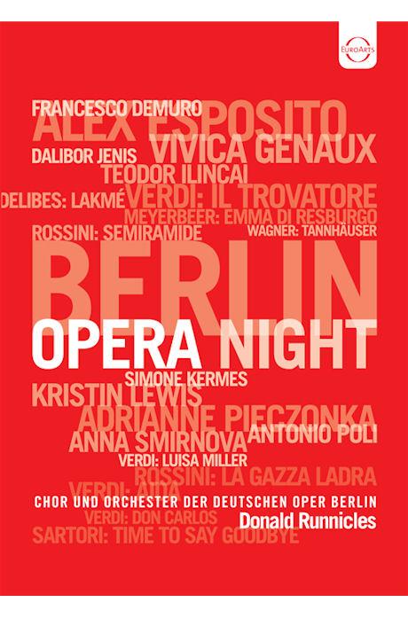 BERLIN OPERA NIGHT/ DONALD RUNNICLES [베를린 오페라의 밤 갈라 콘서트]