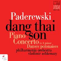 PIANO CONCERTO/ DANG THAI SON, VALDIMIR ASHKENAZY [파데레프스키: 피아노 협주곡 - 당타이손, 아쉬케나지]