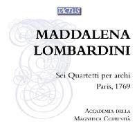 SIX STRING QUARTETS PARIS 1769/ ACCADEMIA DELLA MAGNIFICA COMUNITA [롬바르디니: 여섯 개의 현악사중주 - 아카데미아 델라 마니피카 코무니타]