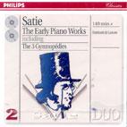 THE EARLY PIANO WORKS/ DE LEEUW