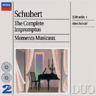 THE COMPLETE IMPROMPTUS, MOMENTS MUSICAUX/ ALFRED BRENDEL [DECCA DUO] [슈베르트: 즉흥곡, 악흥의 순간 - 알프레드 브렌델]