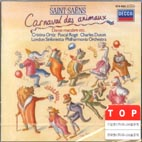 CARNIVAL OF THE ANIMALS ETC/ CHARLES DUTOIT