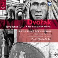 SYMPHONIES 7, 8 & 9 'FROM THE NEW WORLD'/ CARLO MARIA GUILINI [GEMINI] [드보르작: 교향곡 7-9번 <신세계>]