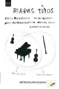 TRIOS/ ELENA BASCHKIROVA, BORIS PERGAMENSCHIKOW, MAXIM VENGEROV [브람스: 피아노 & 클라리넷 트리오]