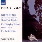 BALLET SUITES-TRANSCRIPTIONS FOR PIANO FOUR HANDS/ AURORA DUO
