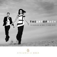JOHANN SEBASTIAN BACH - THE ART OF BACH/ ANDERSON & ROE PIANO DUO [바흐의 예술: 두 대의 피아노 협주곡  마태 수난곡  브란덴부르크 협주곡]