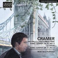 AIR ANGLO-CALEDONIEM VARIE, PIANO SONATAS/ MATTEO NAPOLI [크라머: 앵글로 칼레도니아 풍의 변주곡, 피아노 소나타]
