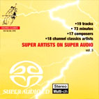 SUPER ARTISTS ON SUPER AUDIO VOL.3 (SACD HYBRID)