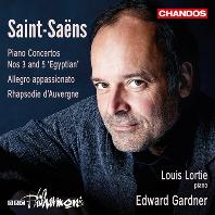 PIANO CONCERTOS NOS.3 & 5/ LOUIS LORTIE, EDWARD GARDNER [생상스: 피아노 협주곡 3, 5번 - 루이 로르티]