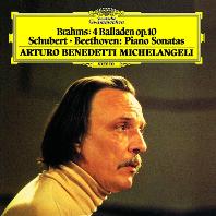 브람스: 4개의 발라드 / 슈베르트: 소나타 D. 537 / 베토벤: 소나타 4번 [UHQCD] [Limited Release] - 아르투로 베네데티 미켈란젤리