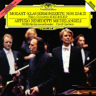 모차르트: 피아노 협주곡 13 & 15번 [UHQCD] [Limited Release] - 아르투로 베네데티 미켈란젤리 / 코드 가벤 / 북독일 방송 교향악단
