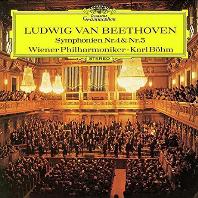 베토벤: 교향곡 4, 5번 [SHM-CD] - 칼 뵘 /  빈 필하모닉 오케스트라